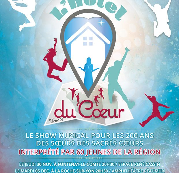 Interview RCF sur le spectacle « Hôtel du Coeur »