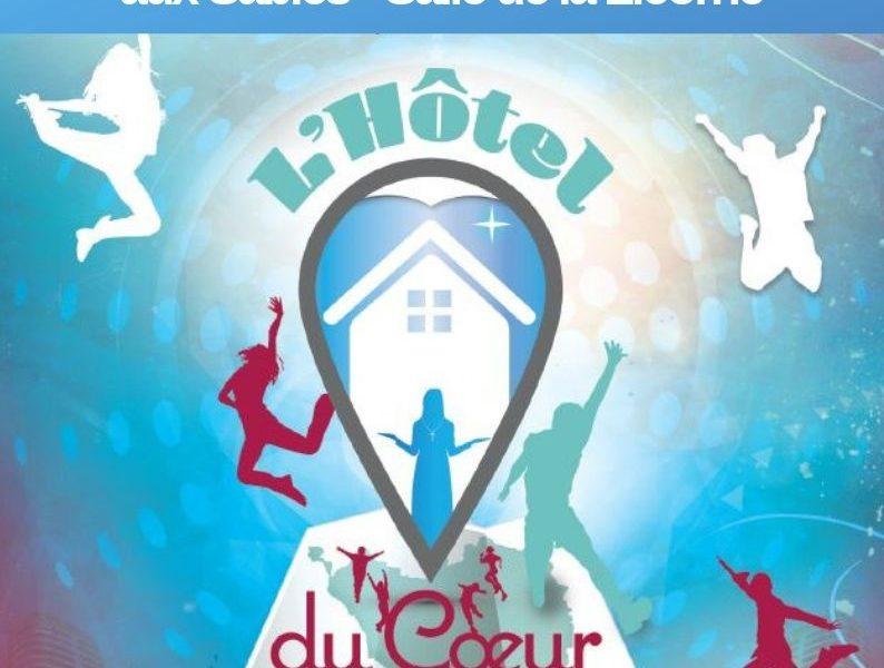 L'Hôtel du Coeur, de retour en Vendée… Lundi 14 octobre 2019