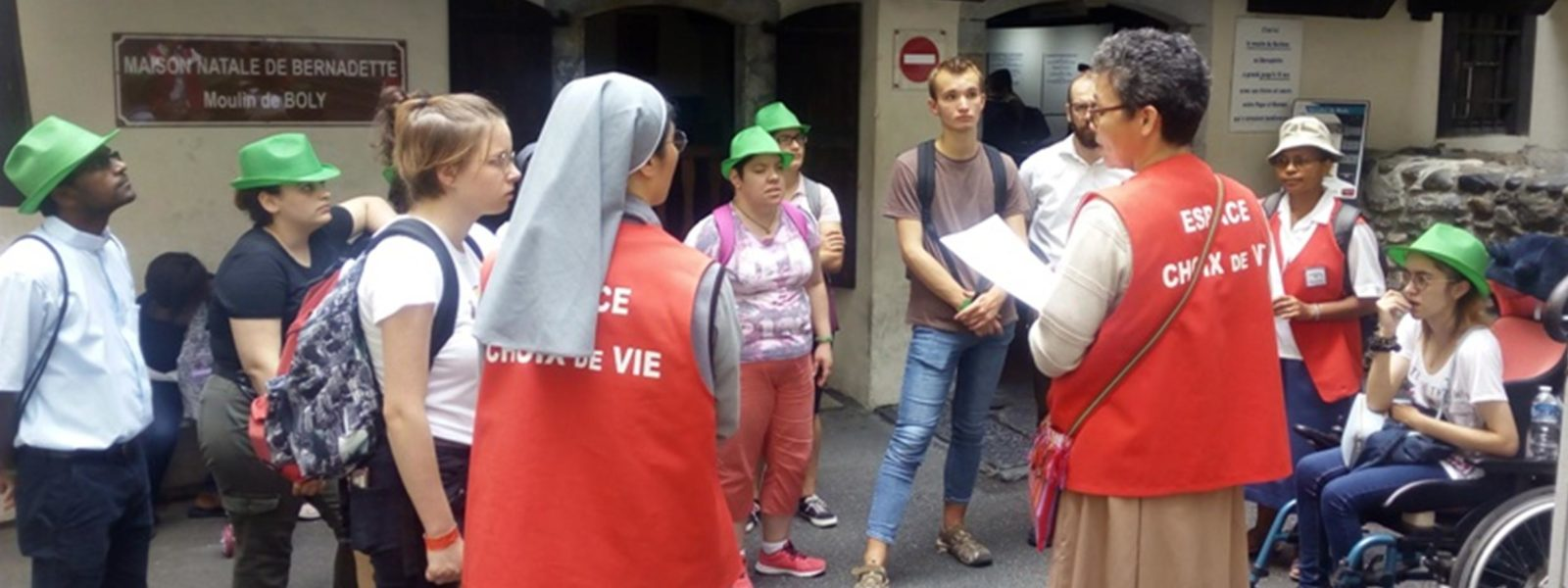Au service des jeunes et des vocations, à Lourdes