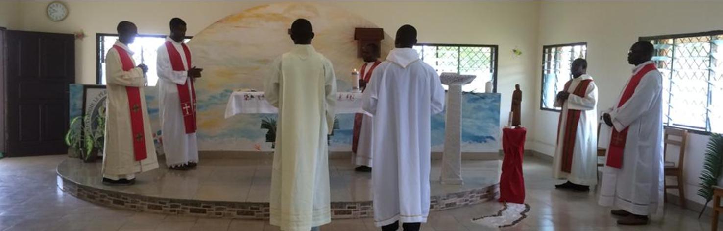 Rameaux dans notre chapelle de Kinkala (Congo)