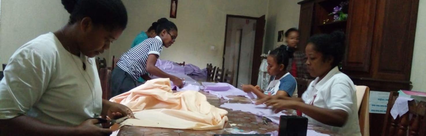 La communauté de Soanierana Yvongo participe au combat contre la pandémie covid-19