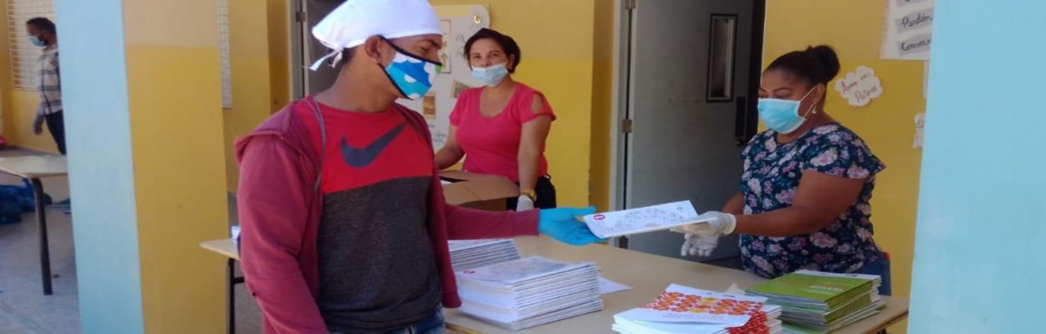 Mobilisées en République Dominicaine contre le Coronavirus