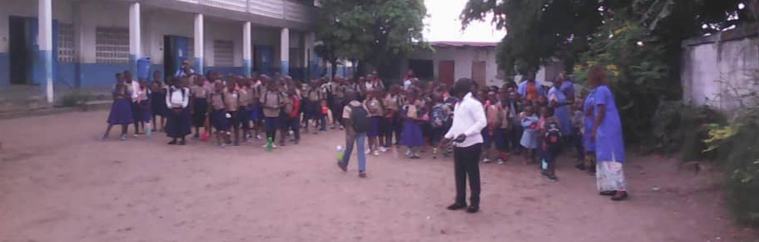 Rentrée des classes au Congo !