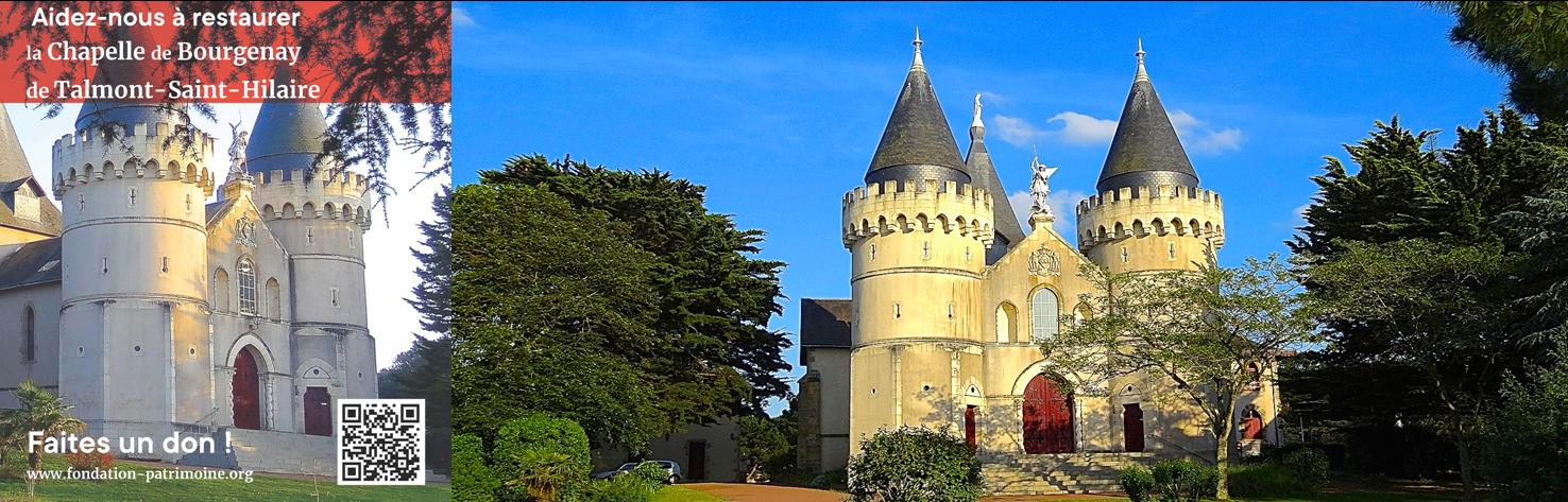 Émission de TV Vendée sur la restauration de la chapelle de Bourgenay