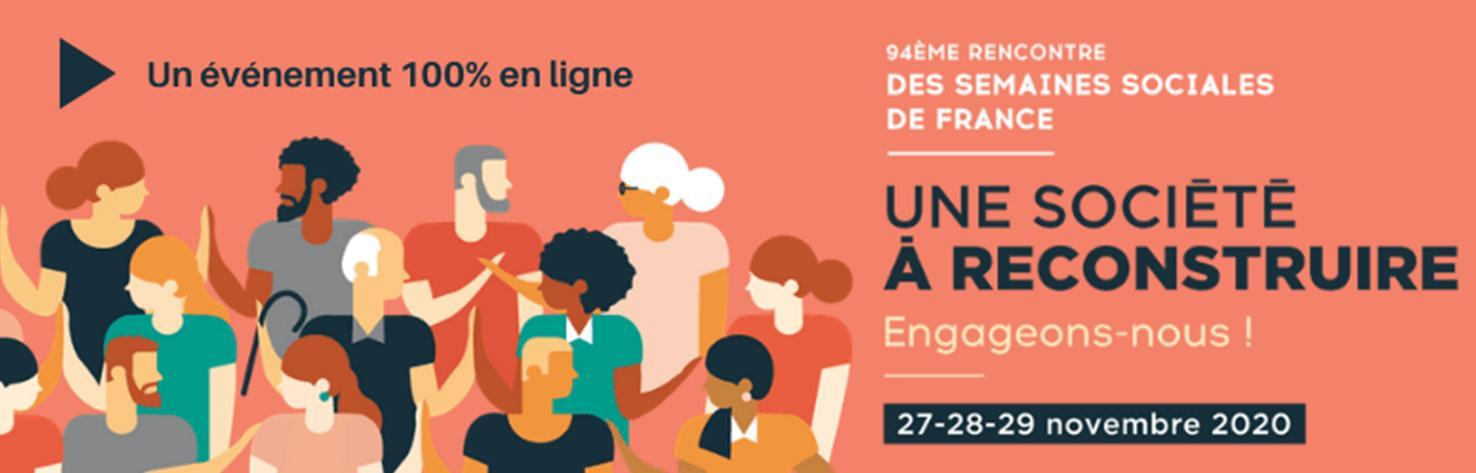 J'ai vécu la 94ème rencontre des Semaines Sociales de France