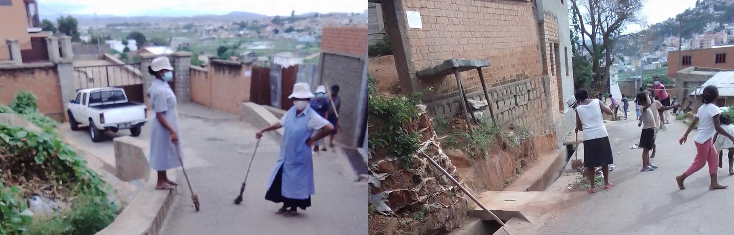 « Balayons nos rues » (Madagascar)