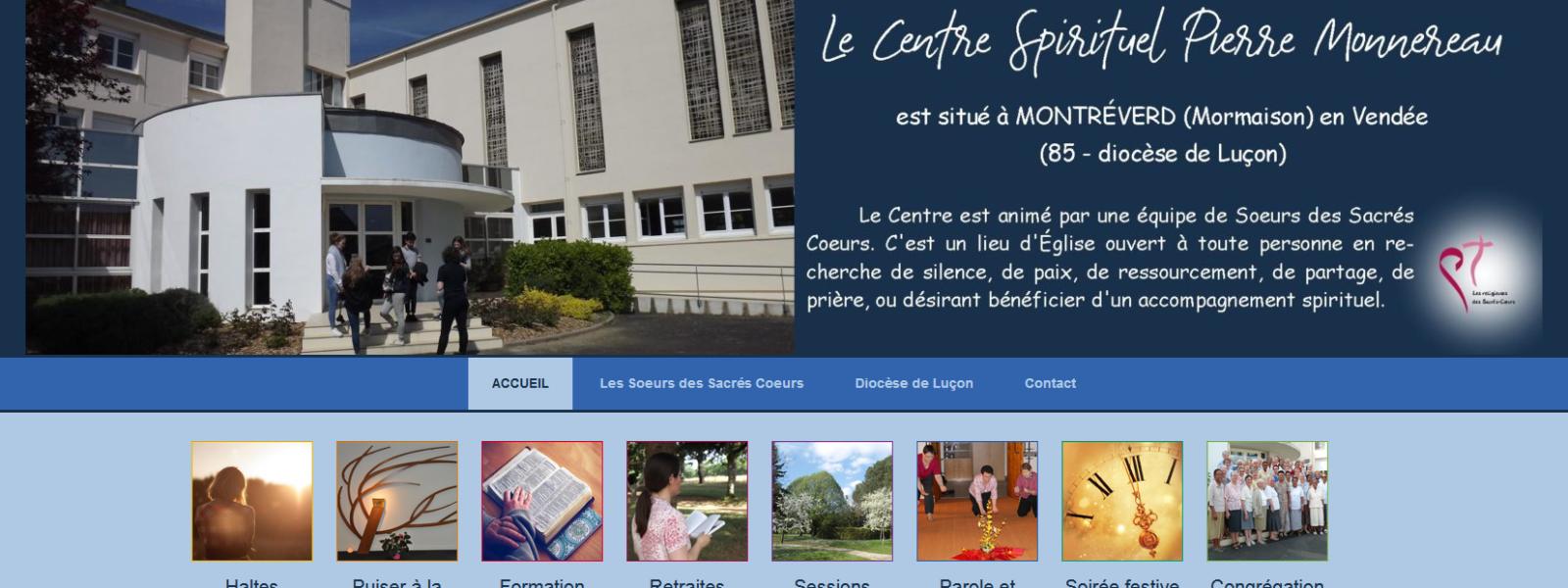 Un nouveau site internet pour le Centre Spirituel