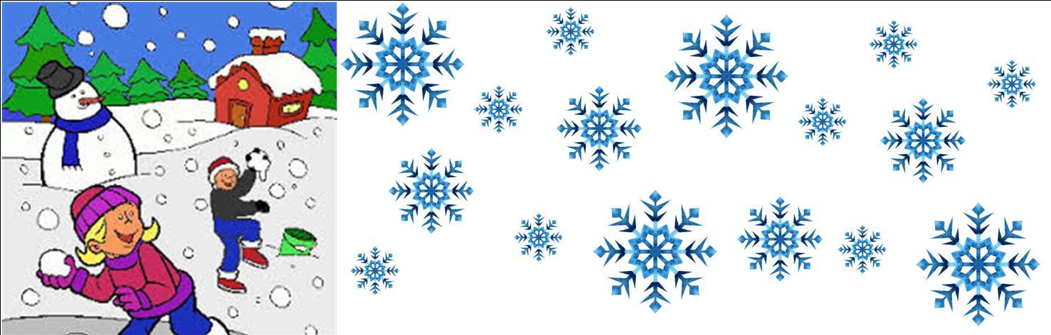 Les joies de l'hiver canadien.