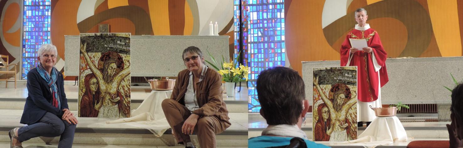 Engagement des associées à la Congrégation en France…