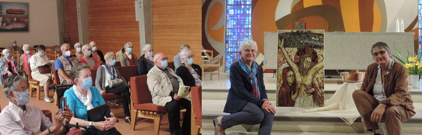2 nouvelles associées à la Congrégation en France…