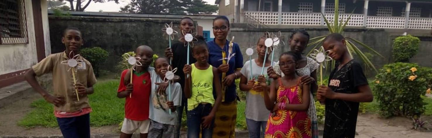 Concours d'Arts Plastiques à l'école Angélique Massé de Brazzaville (Congo )